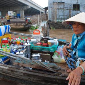 mercados flotantes de can tho