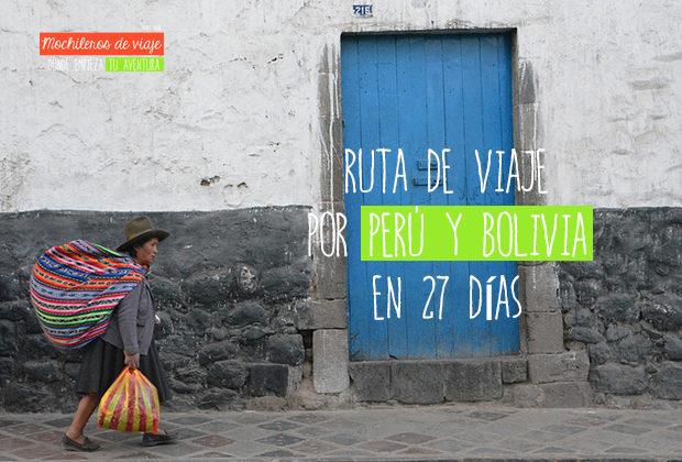 ruta por perú y bolivia
