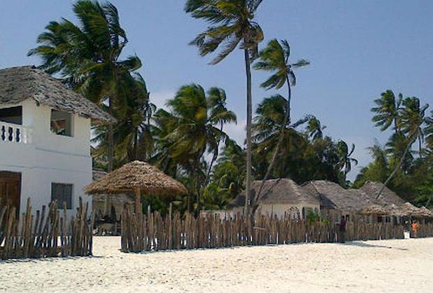 alojamiento en jambiani
