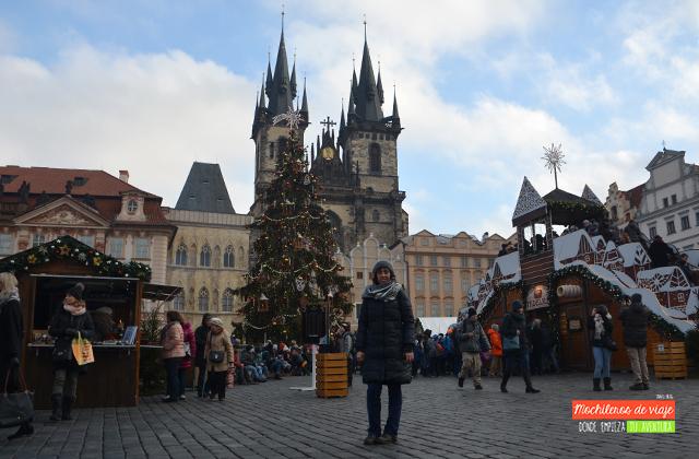 mercados de navidad en praga