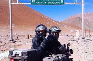 en moto por sudamerica