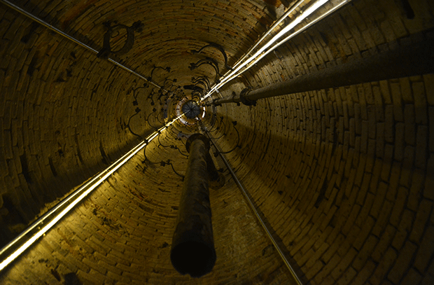 interior torre aigües