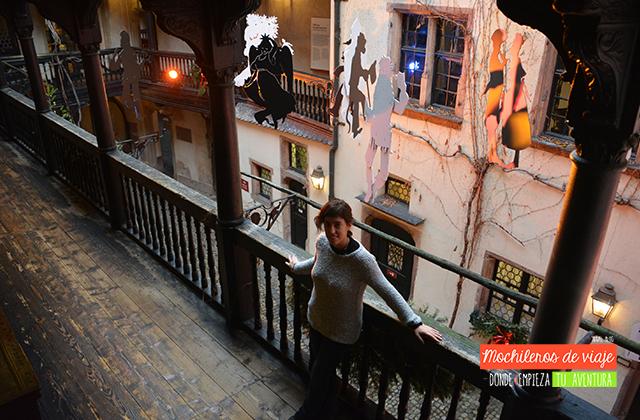 patio del museo alsaciano