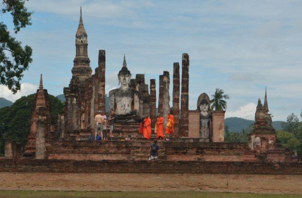 sukhothai en bicicleta