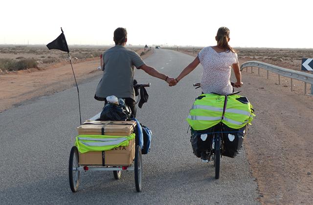 en bici por africa