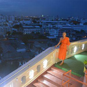 visita al Monte Dorado de Bangkok