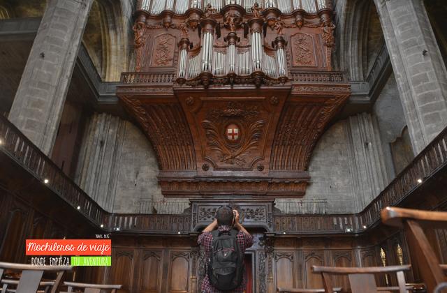 órgano sala coro narbonne