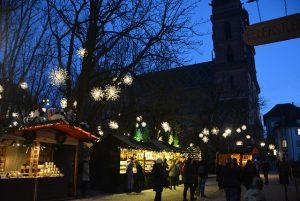 mercado de navidad Münsterplatz