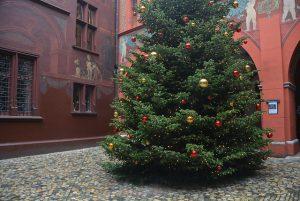 árbol navidad ayuntamiento de basilea