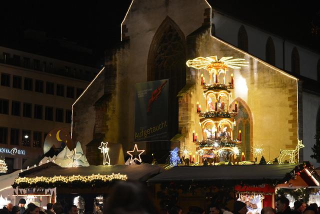 mercado de navidad de Bassüferplatz