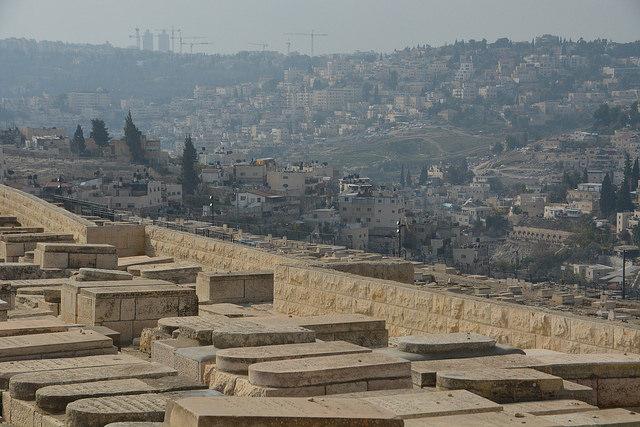 tumbas judías monte de los olivos