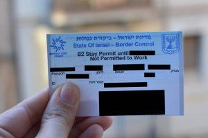b2 visa israel