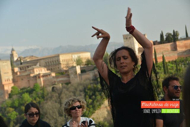 flamenco mirador san nicolas granada en dos días