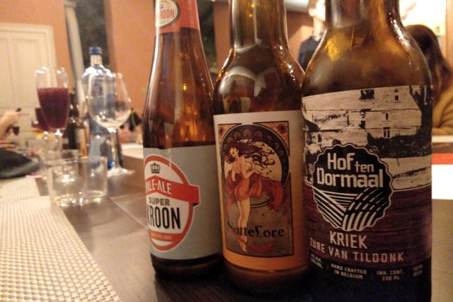 maridaje de cerveza y gastronomía belga