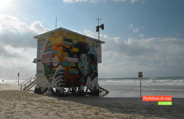 lugares que ver en tel aviv playa frischmann