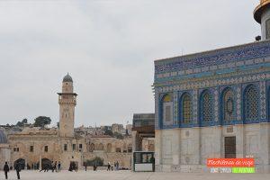 minarete explanada de las mezquitas