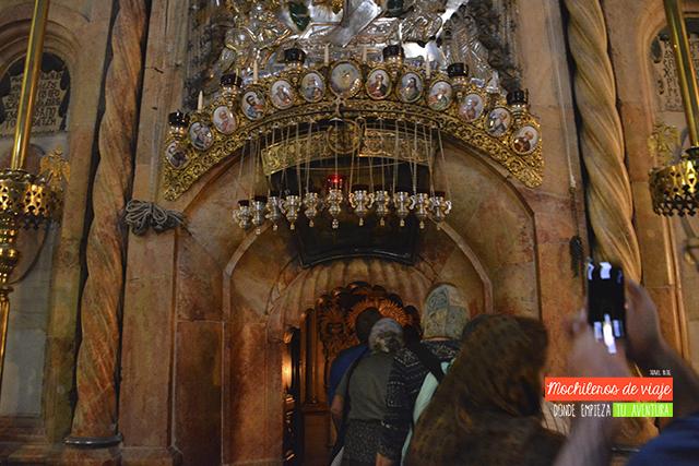 visitar el santo sepulcro jerusalén