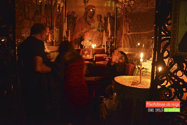 capilla ortodoxa santo sepulcro