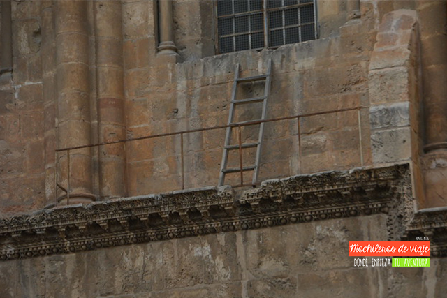 escalera santo sepulcro