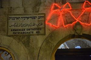barrio armenio jerusalén