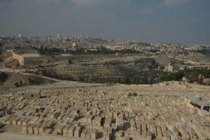 cementero judío monte de los olivos