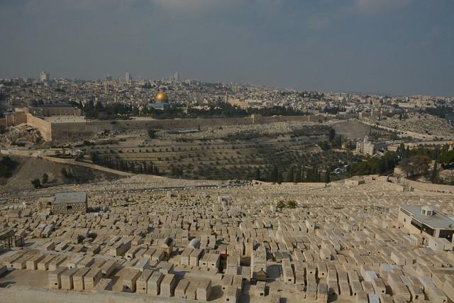 qué ver en jerusalén monte de los olivos