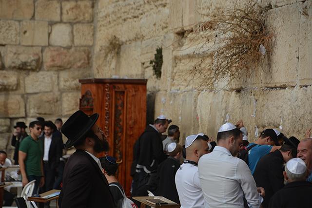 visitar el muro de las lamentaciones jerusalén