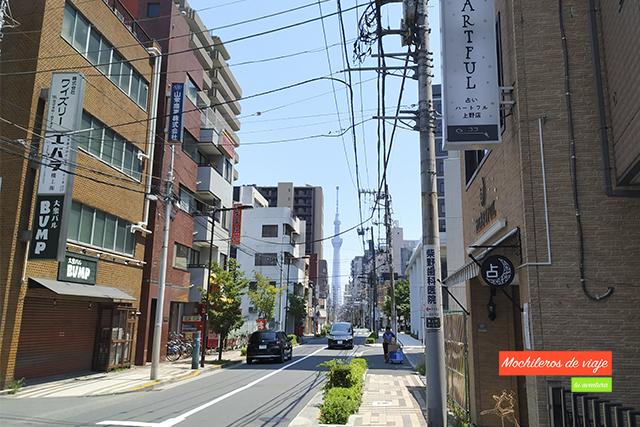 donde alojarse en tokio barrio ueno