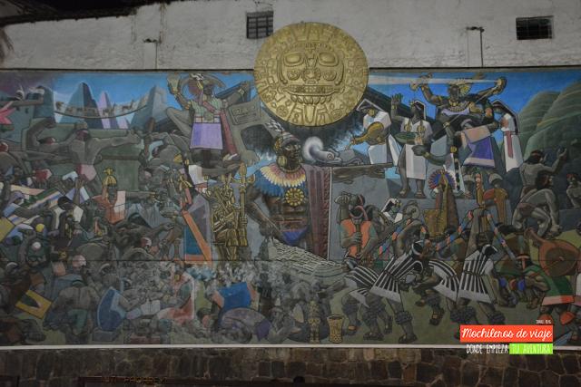 mural del inca qué ver en cusco 2 días