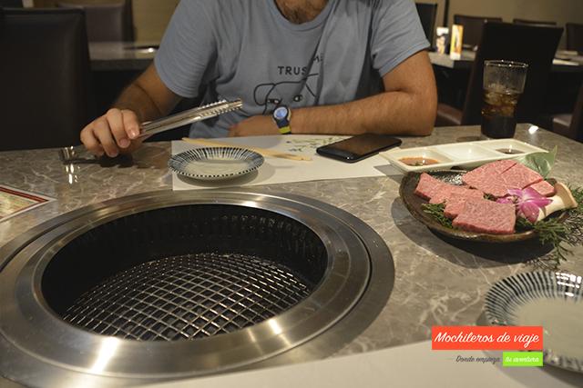 teppan donde comer en japón