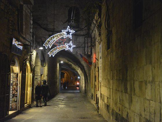 navidad en jerusalén