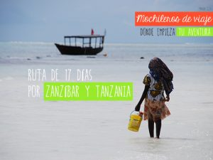 ruta por zanzibar y tanzania