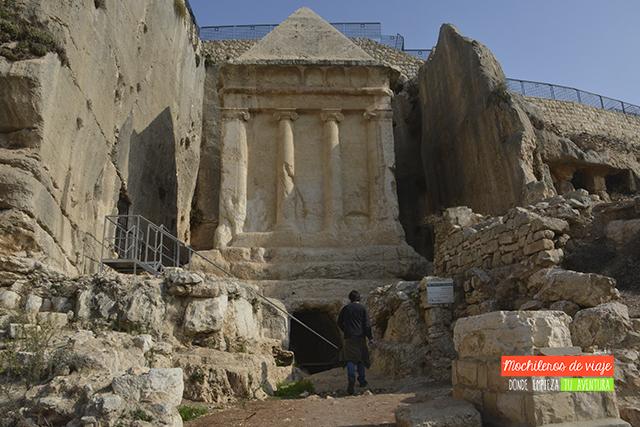 tumba de zacarías jerusalén
