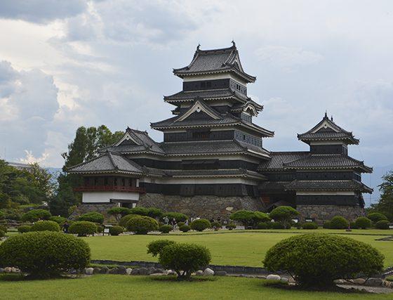4 castillos de japón