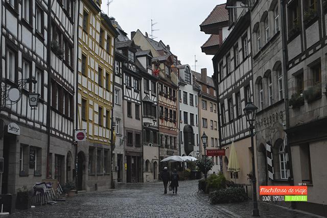 una calle con encanto nuremberg