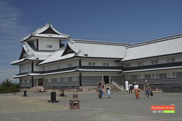 castillo de kanazawa japón