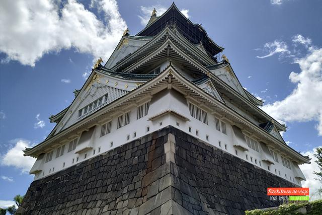 castillo de osaka japón