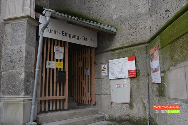 entrada torre de daniel nördlingen