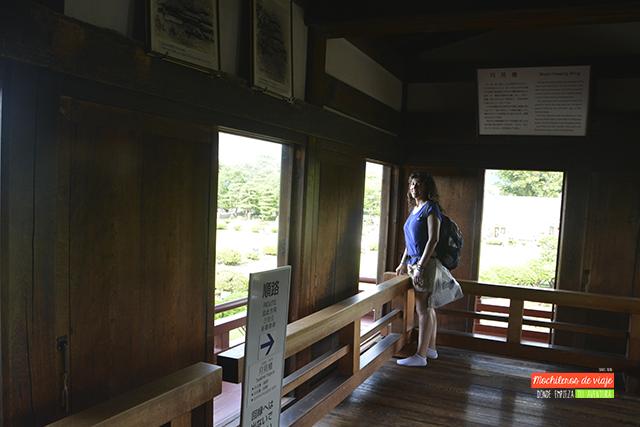 interior castillo de matsumoto japon