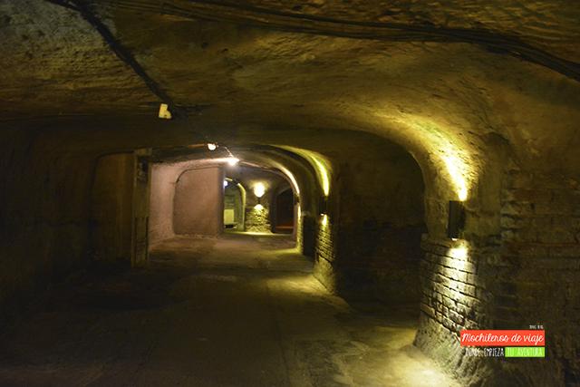 tour subterráneo