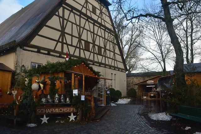 artesanos mercado de navidad dinkelsbühl