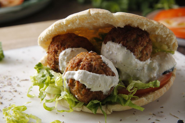 falafel que se come en israel
