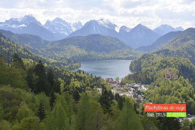 vistas desde neuschwanstein