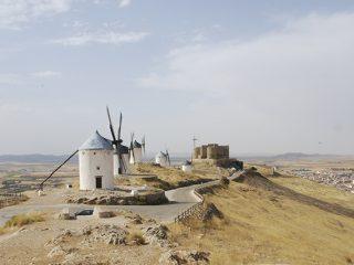 molinos de viento en la mancha