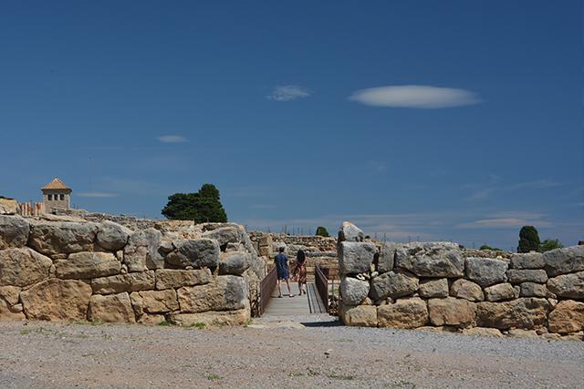 muralla griega empúries