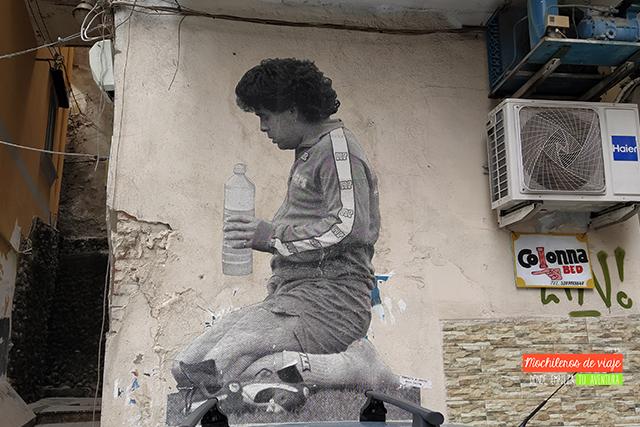graffitis de maradona qué ver y hacer en nápoles en 2 días