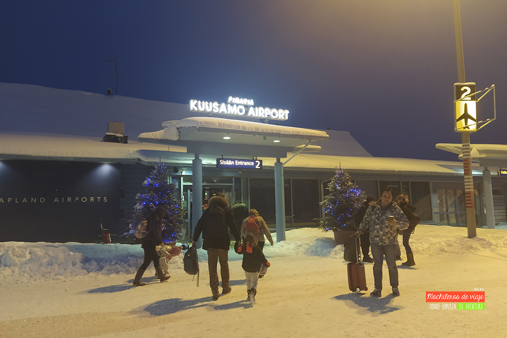 aeropuerto kuusamo