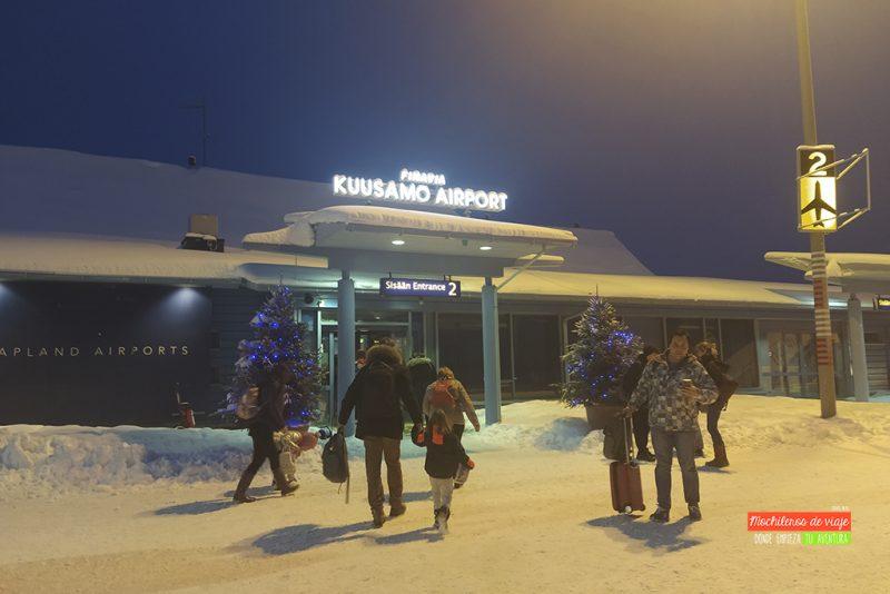 kuusamo aeropuerto
