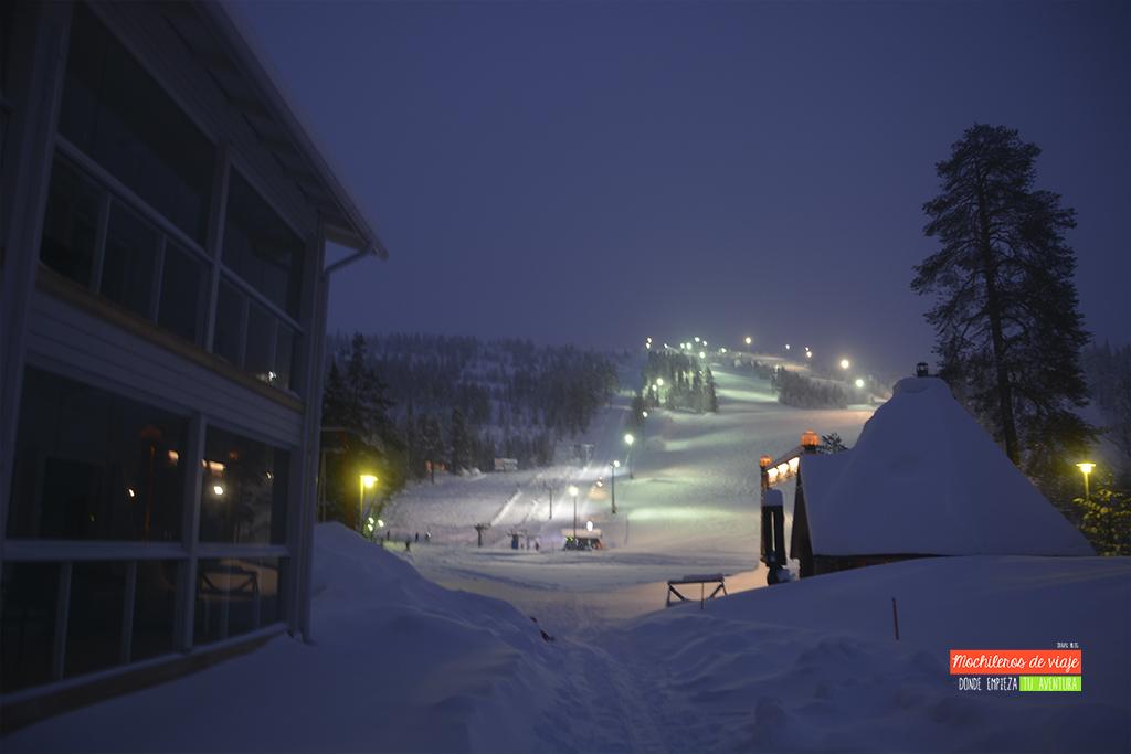 pista de esqui laponia