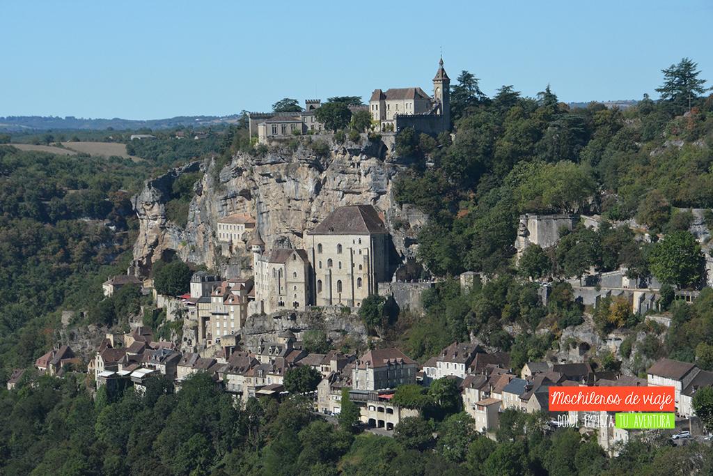 vista de rocamadour sur de francia